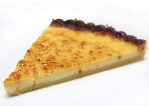 Maple Brulee Tart