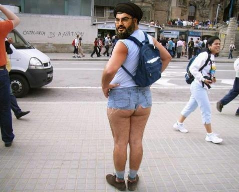 Nasrallah en shorty
