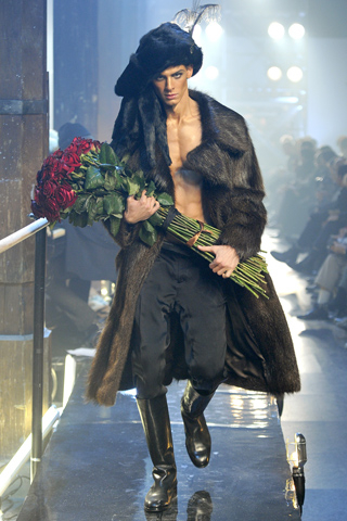 John Galliano Fall 2011 Menswear Collection