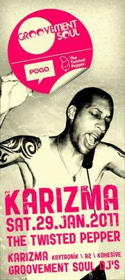 Dj Karizma @ The Twisted Pepper this Saturday in Dublin