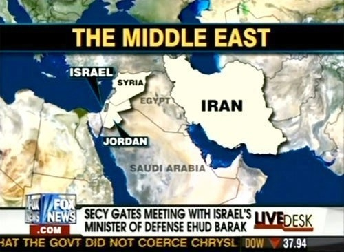 Fox News has no idea where Egypt is on a map