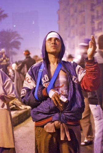 Egypt protests | broken bones but not broken spirit
