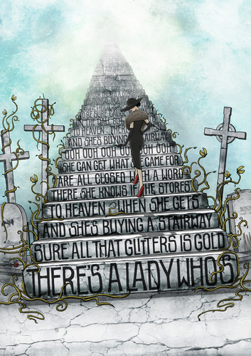 Draw me a song - Stairway to heaven