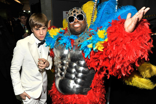 justin bieber and Cee-lo