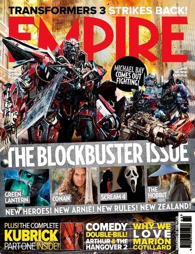 Sentinel & Optimus Prime en couverture d'Empire #transformers
