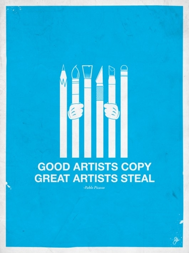 Piccsy :: Image Bookmarking :: Moxy Creative - Good Artists Steal