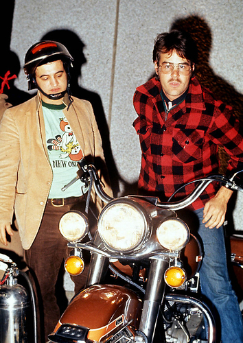John Belushi and Dan Aykroyd | This Is Not Porn - Rare and beautiful celebrity photos