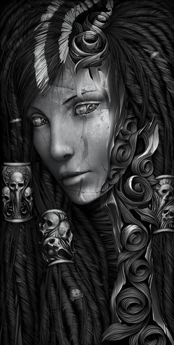 Daily deviation : Sorceress by ~JAY-WALLACE on deviantART
