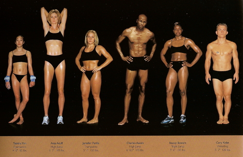 The Perfect Body, as Illustrated by Olympic Athletes » Sociological Images