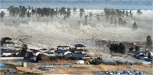 Huge Quake Triggers Japan Tsunami