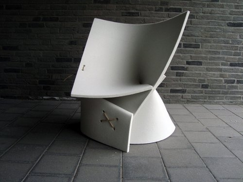 Felt Chair by James van Vossel & Tom de Vrieze