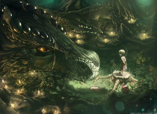 Daily deviation : You stand on my old friend by ~Simplicata on deviantART