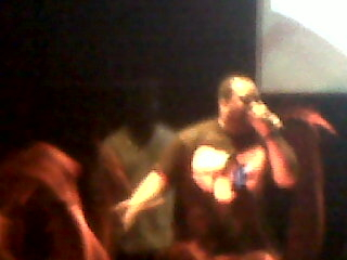 Raekwon right now during his concert!