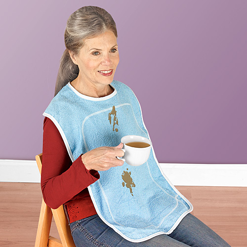 ADULT BIB WITH MOISTURE BARRIER from Taylor Gifts