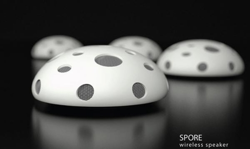 Spore Bluetooth Speaker To Spread Music In Your Home - Designbuzz