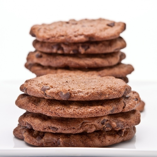 Double Chocolate Peanut Butter Cookies #cuisine #food #recette