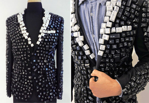 Keyboard Jacket: A Weird Fashion Statement! - Designbuzz