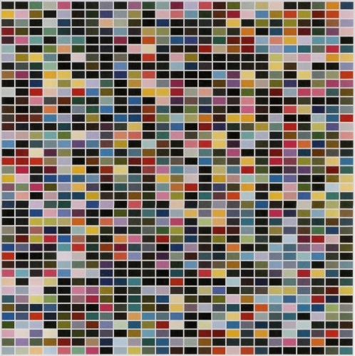 Gerhard Richter » Art » Paintings » Abstracts » 1025 Colours » 354
