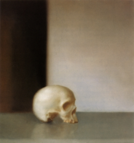Gerhard Richter » Art » Paintings » Photo Paintings » Skull » 548-2