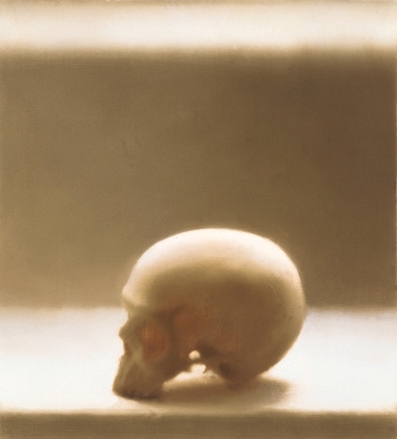 Gerhard Richter » Art » Paintings » Photo Paintings » Skull » 545-3