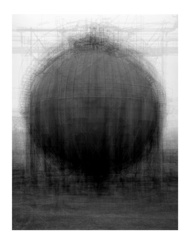Idris Khan - Every...Bernd And Hilla Becher Spherical Type Gasholders - Contemporary Art
