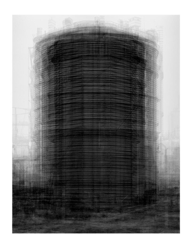 Idris Khan - Every...Bernd And Hilla Becher Prison Type Gasholders - Contemporary Art