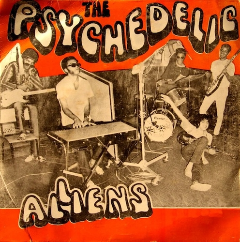 Psychedelic Aliens, Psycho African Beat.