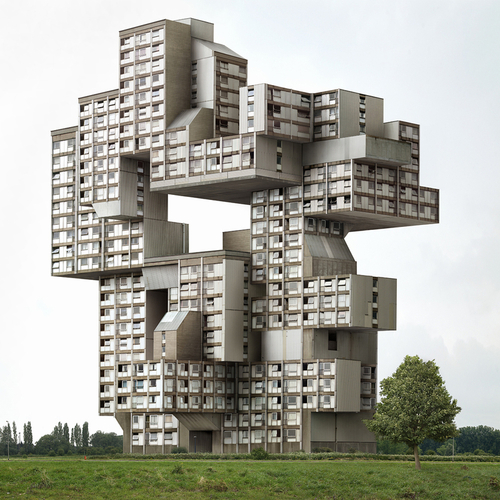 Crazy Building Photography