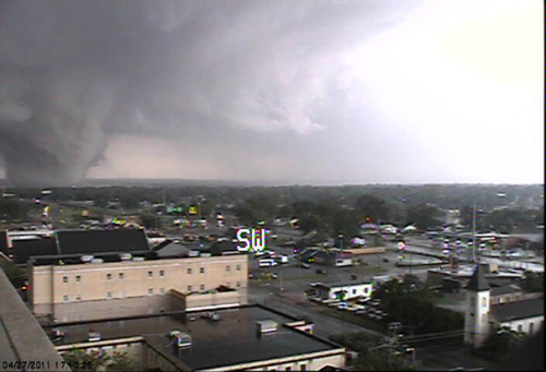 Anoother view of the Tuscaloosa tornado