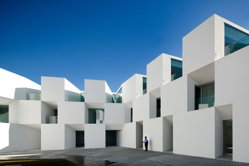 The Nursing home of Aires Mateus Architects through the eyes of Fernando Guerra | Yatzer™