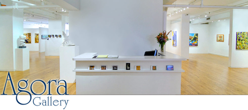 Agora - Contemporary fine art gallery - Chelsea art galleries district - New York City