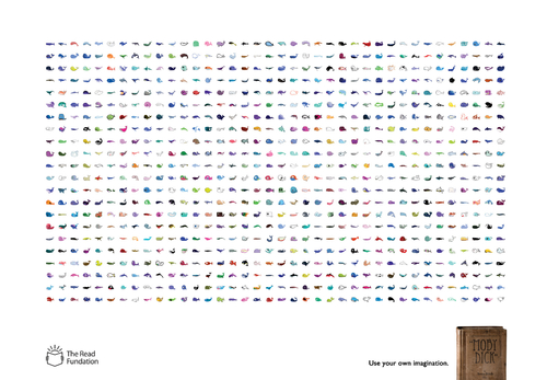 The Read Foundation: Imagination, Moby Dick | Ads of the World™