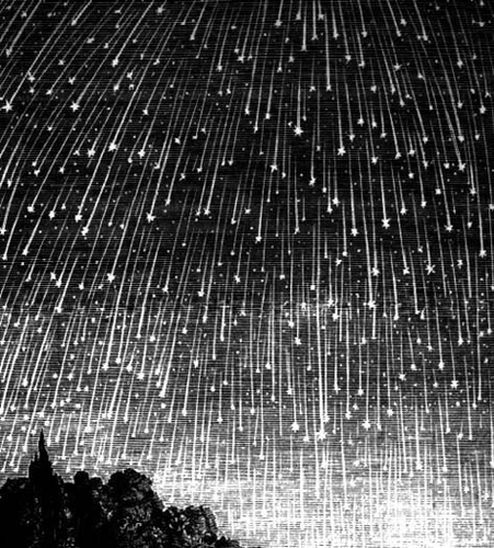 darling, it's raining stars tonight