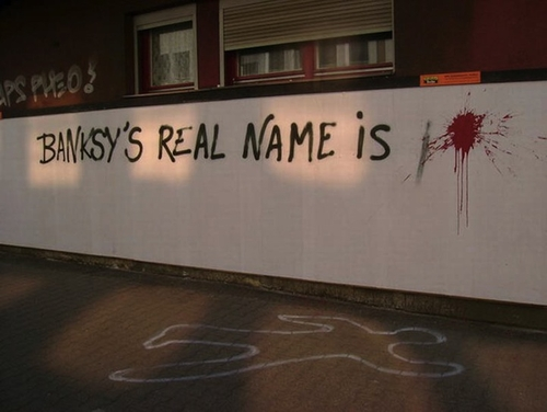 Banksy's real name is