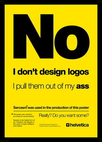 No. I Don't Design Logos