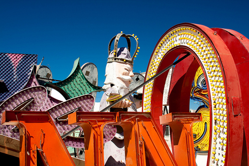 The Las Vegas Neon Museum, A Graveyard For Neon Signs