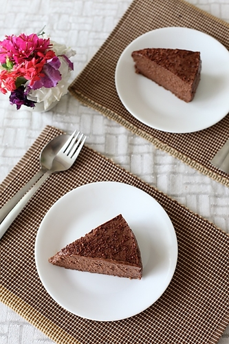 Chocolate Mascarpone Cheesecake #cuisine #recette #food