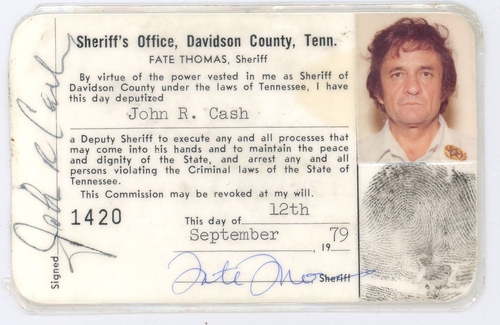 sheriff johnny cash