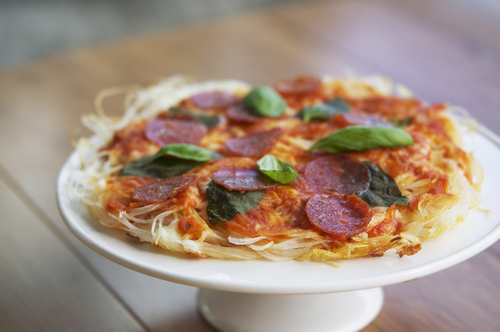 Make pizza without dough / pizza sans pâte  #food #cuisine #recette