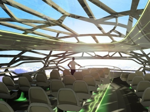 Galerie photo - images de L'avion du futur vu par Airbus - Nouvelobs.com