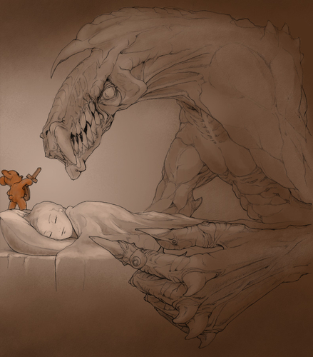 Why you should always sleep with a Teddy bear - Imgur