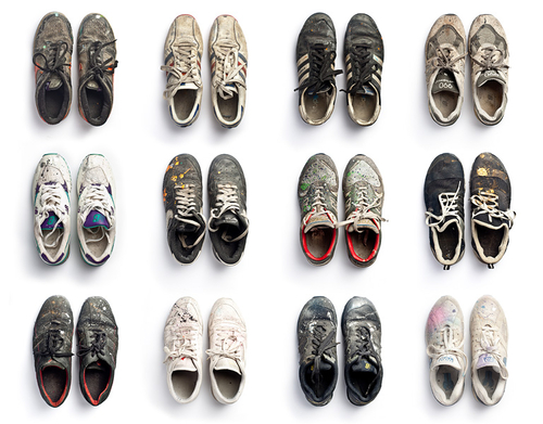 12 ans de graffiti en sneakers