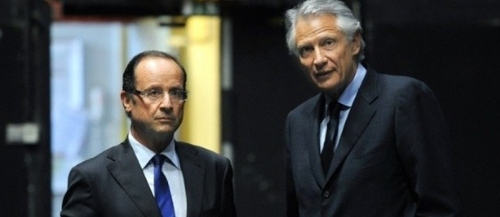 Hollande tend la main a Dominique de Villepin pour 2012