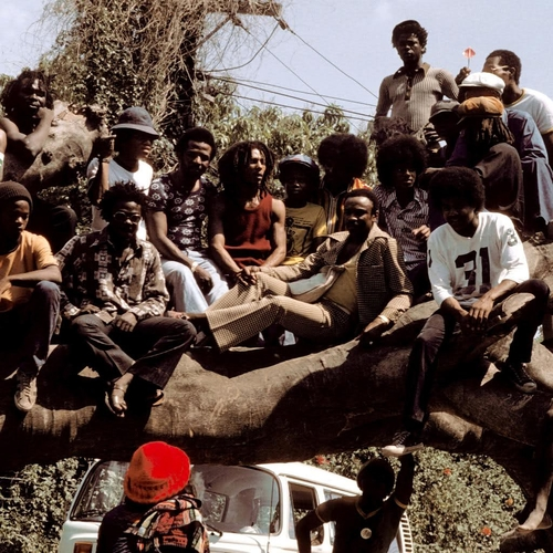 Bob Marley and Jackson Five in Jamaica, 1975