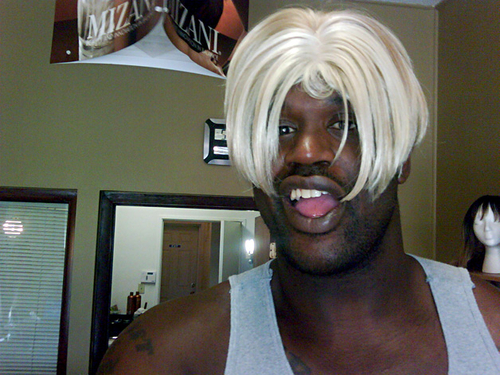 Celebrities all a-Twitter : Shaquille O'Neal