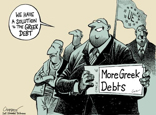 More Greek Debts - Dessin de Chappatte