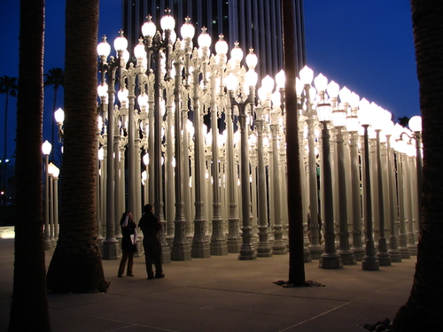 Streetlights by Chris Burden