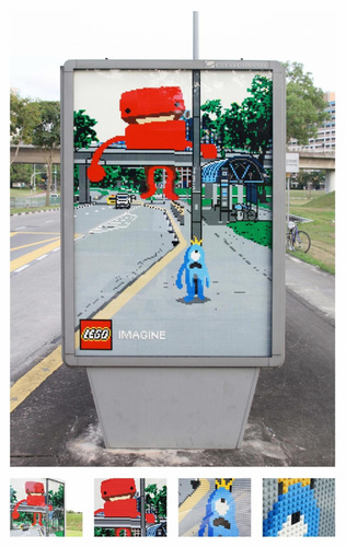 Lego: Monster | Ads of the World™