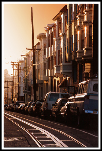 Sunset in San Francisco, California #photo