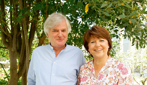 Martine Aubry et Jean-Louis Brochen dans Paris Match